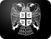 serbian eagle decal